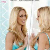 Откровенная эротика красивой зрелой женщины блондинки