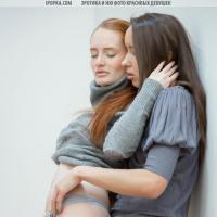 Девушки подружки красиво мастурбируют киску лесби эротика