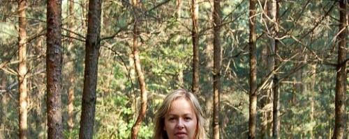 Любительские фото жены на природе