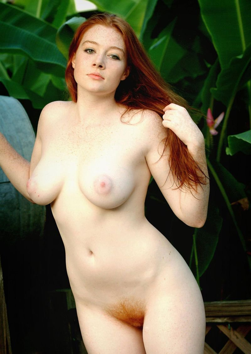 Green Eyed Redhead Nude