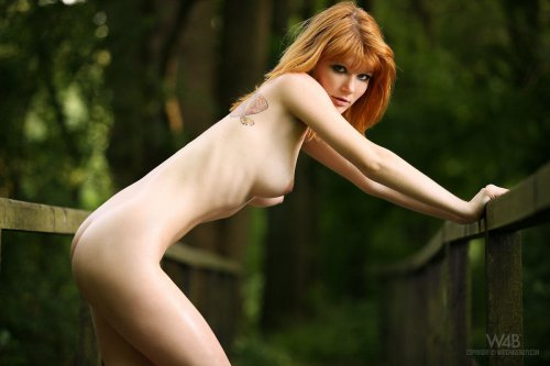Рыженькие девчонки позируют голыми на фото