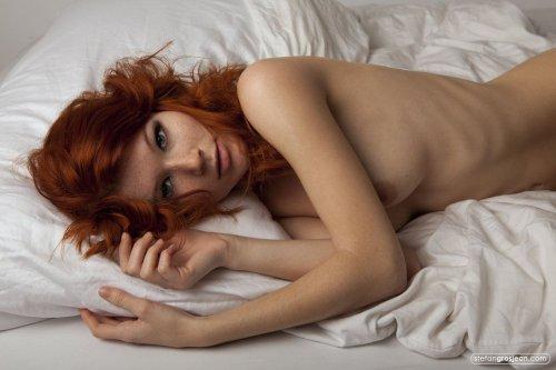 Эротичные голые рыжие девушки подборка картинок