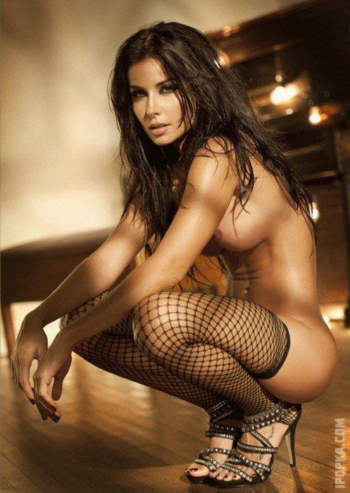 Эротические картинки голых женщин в чулочках