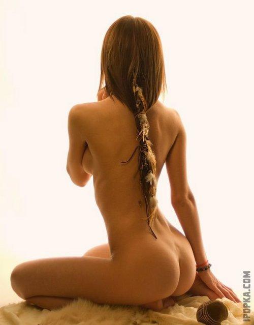 Красивые девушки спиной на фото