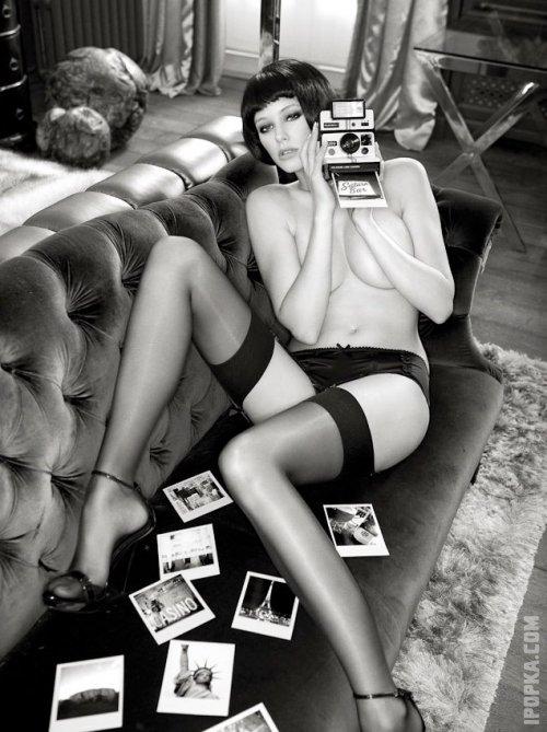 Секси фото горячих девочек в игривых чулочках