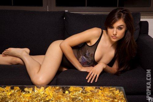 Красивая Саша Грей, фотографии для журнала PlayBoy