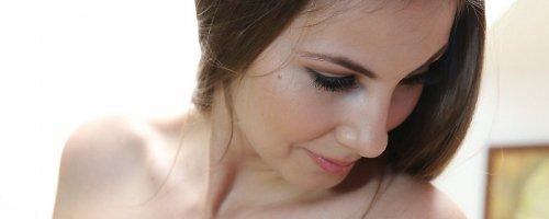 Смотреть фото красивой связанной веревкой голой девушки