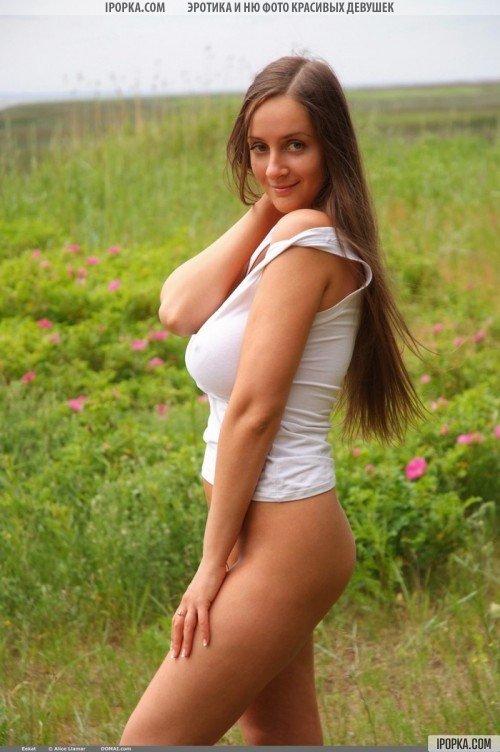 красавица с большими сиськами