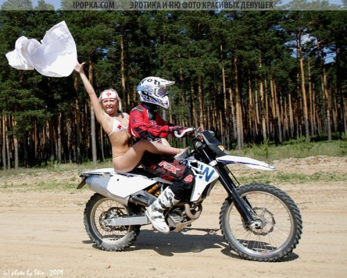 Девушка и парень на мотоцикле подборка